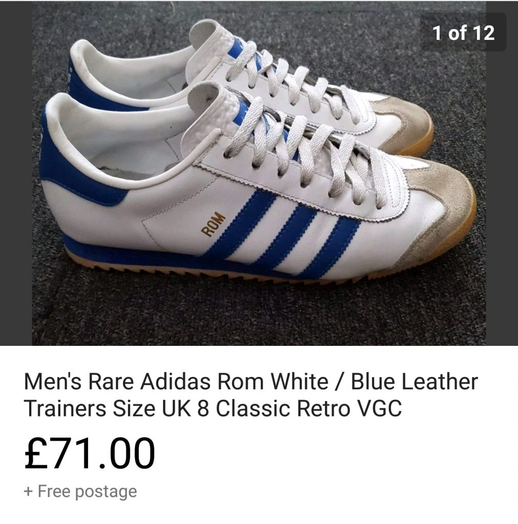 rare trainer sale on ebay