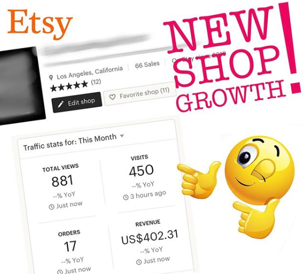 etsy shop growth for print on demand t-shirts