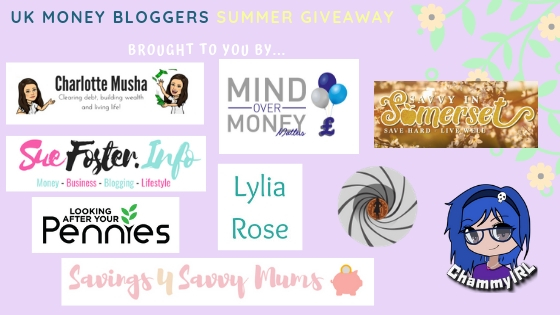 uk summer giveaway by top money bloggers
