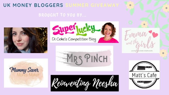 team of UK money bloggers got together to create this giveaway