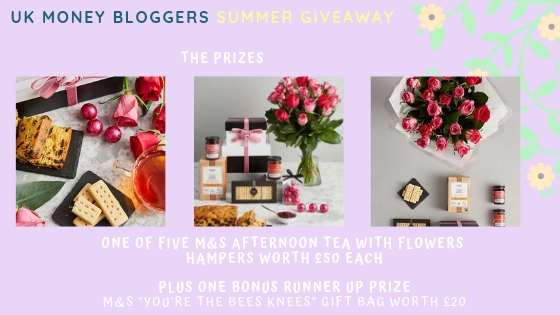 summer giveaway with M&S